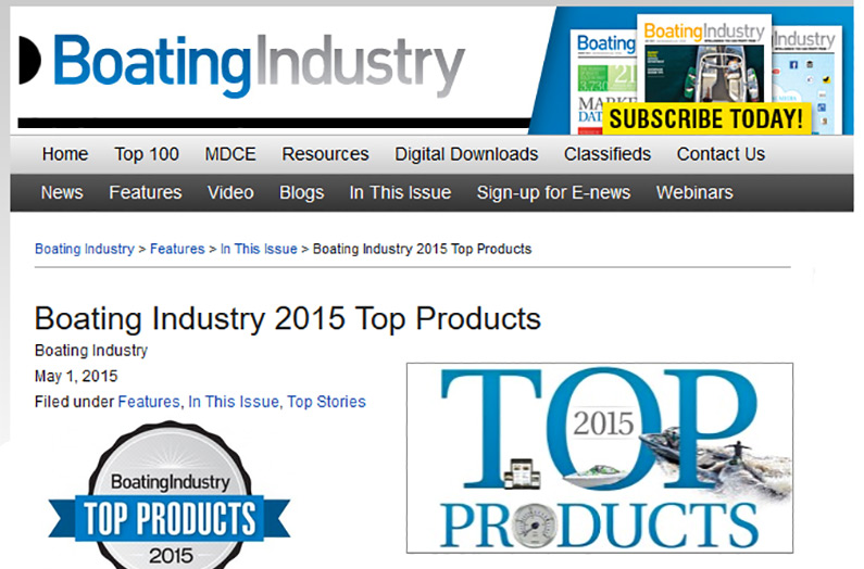 Boating Industry 2015 Top Products