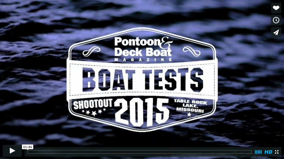 P&DB Boat Tests 2015 Shoot Out