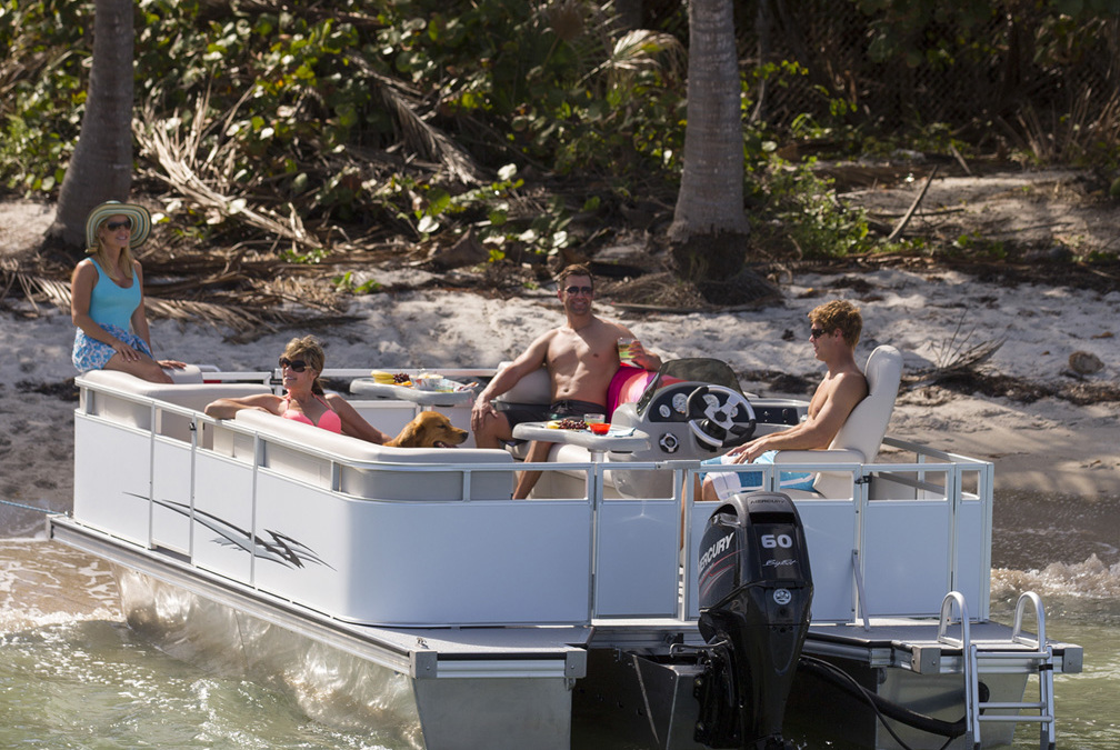 Island Boats Launches Two Revolutionary Pontoons